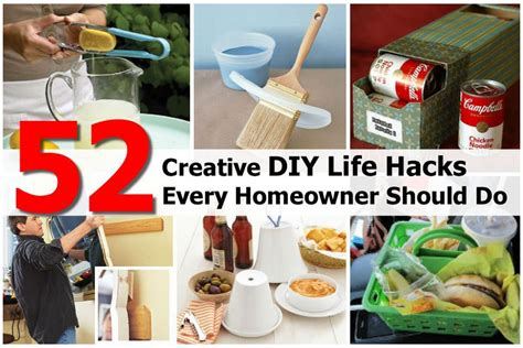 Life Hacks For Home | 52 creative diy life hacks every homeowner should do