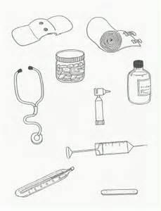 doctor bag craft template thema ziek zijn juf anke lesidee kleuters