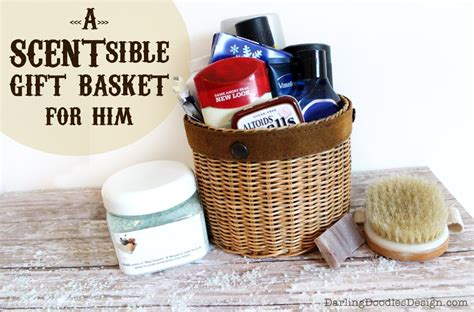 diy valentine s day gift baskets for him darling doodles