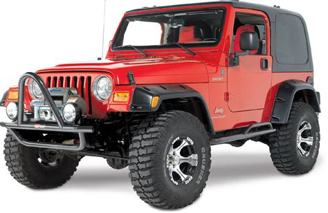 Jeep Wrangler Fenders Quadratec 174 Bcy1000 6 Quot Pocket Style Fender Flares For 97 06