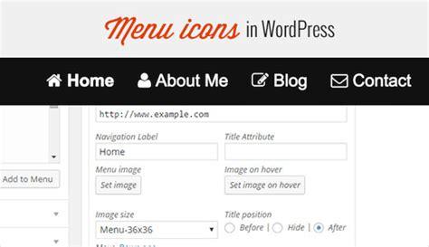wordpress tutorial navigation menu how to add image icons with navigation menus in wordpress