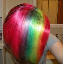 color my hair how i dye my hair rainbow