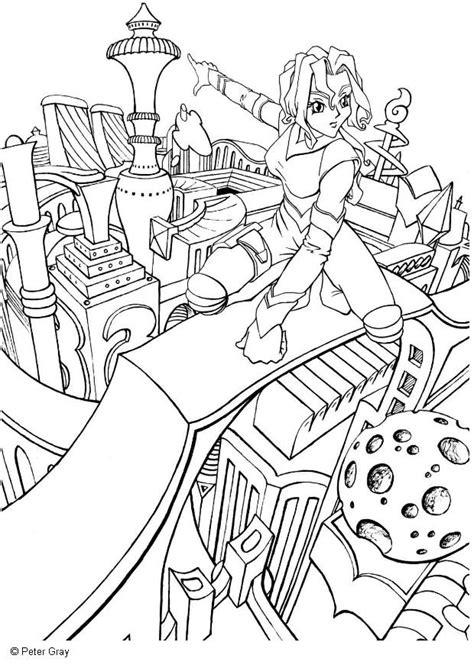 Nos jeux de coloriage Manga à imprimer gratuit - Page 6 of 8