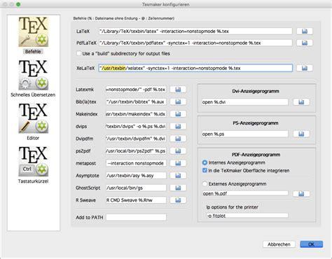 tutorial latex mac latex unter mac os x einrichten das latex buch