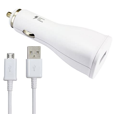 fast charger for android samsung 2a adaptive fast charging micro usb car charger