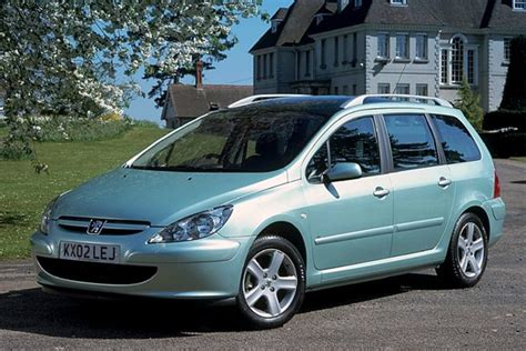 used peugeot prices peugeot 307 sw from 2002 used prices parkers