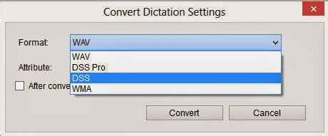 format audio dss support olympus ds 2400 and ds 2500 changing the
