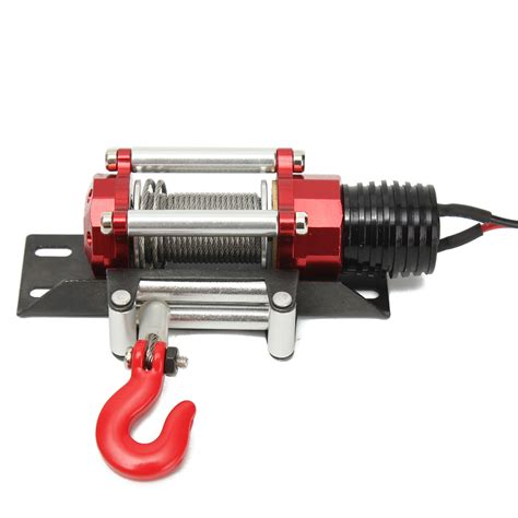 Winch Steel Wired Hd Metal Rc 1 10 Yeah Racing Ya 0388 winch traction all metal type a for 1 10 rc crawlers ya