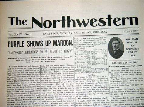 A News Paper - early northwestern student newspapers exhibits