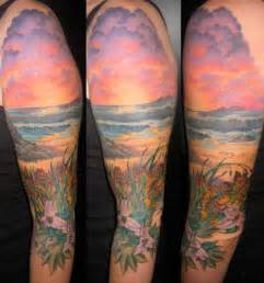 beach tattoo sleeve 30 tattoos tattoofanblog