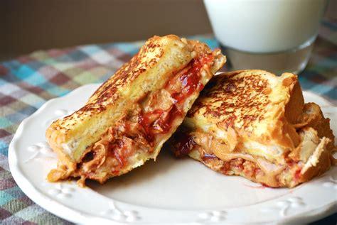 Toast Sandwich Peanut Butter Jelly Toast Sandwich Macaroni And