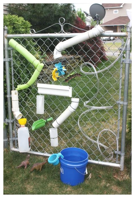 Backyard Water Play by Water Wall Summer Water Play For