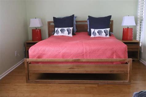 Washed Oak Bedroom Furniture Modern Crafted Matte Washed Oak Organic King Bedroom Set Bed Tables Ls For Sale At 1stdibs