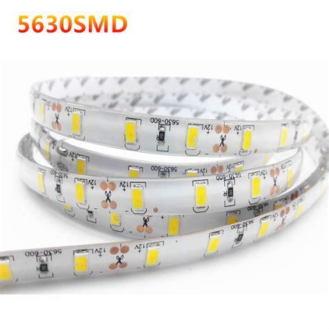 Lu Led 1 Meter 1 2 3 4 5m ip65 waterproof led light 5630 smd dc12v 60leds m 5730 bar light