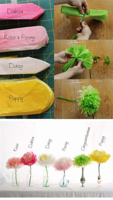How To Make Different Types Of Flowers With Paper - el detalle que hace la diferencia papel adornos