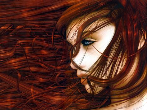 red pubic women redhead abstract wallpaper