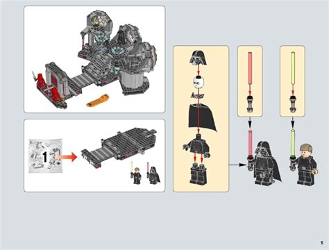 death star lego star wars final duel lego death star final duel instructions 75093 star wars