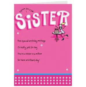 birthday cards for sister free printables pinterest