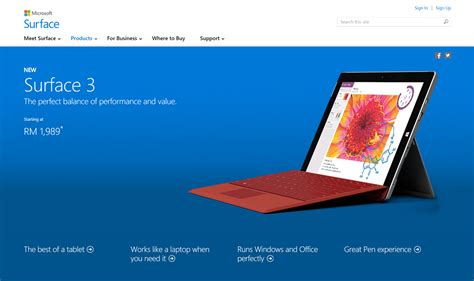 Microsoft Surface 3 Malaysia microsoft surface 3 launched in malaysia pre order available now winniekepala
