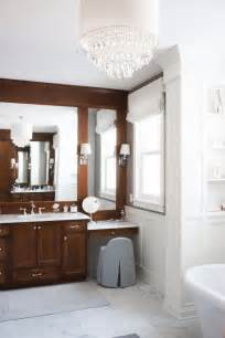 bathroom cabinet with makeup vanity new classic interior design ideas home bunch interior