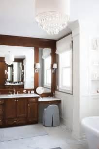 bathroom cabinet with makeup vanity new classic interior design ideas home bunch interior