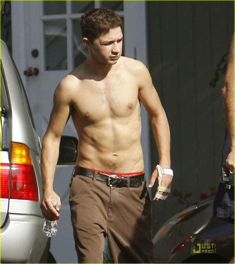 full sized photo of shia labeouf shirtless 03 photo