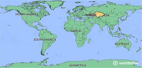 map world kazakhstan where is kazakhstan where is kazakhstan located in the