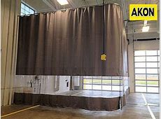 Industrial Vinyl Curtains - Akon – Curtain and Dividers Insulator Cover