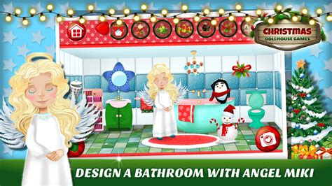 3d doll house games christmas dollhouse games 3d android apps on google play