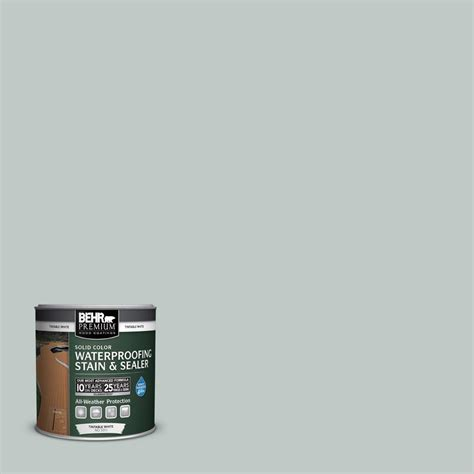behr premium  oz sc cape  gray solid color