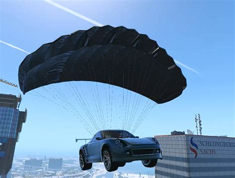 Car Modification Gta V by Parachute For All Civilian Vehicles Gta5 Mods