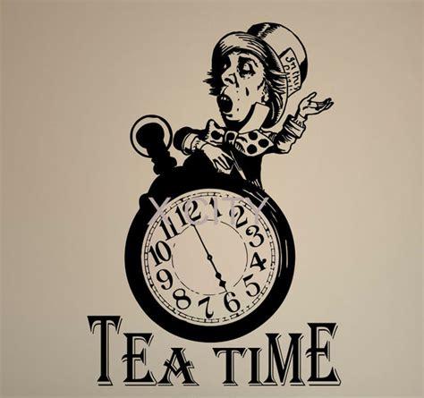 Kitchen Tea Decoration Ideas by Aliexpress Com Buy Alice In Wonderland Quote Tea Time
