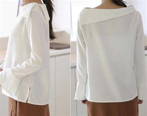 Shjt217121280244 Blouse Zara Blouse Putih Bagus Murah blouse cotton murah 2017 sleeved blouse