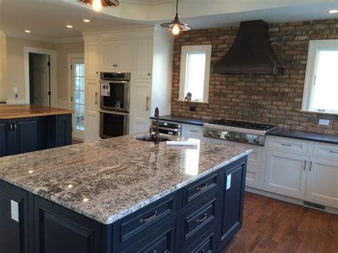 Tile Backsplash For Kitchens With Granite Countertops bianco antico amp kodiak brown leathered granite countertops