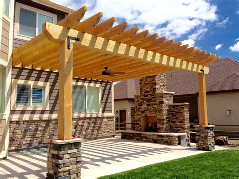 large beam pergolas fort collins windsor co