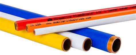 information about plastic coated copper pipe tubing