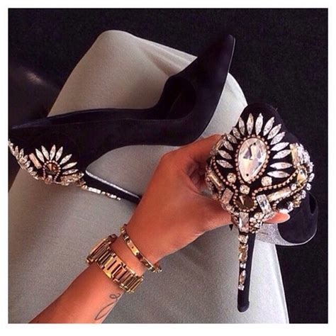 New Arrival Fashion Slip On 1698 new arrival fashion shoes rhinestone high heels