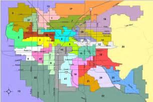 Las Vegas Zoning Map by Nevada News Bureau 187 Population