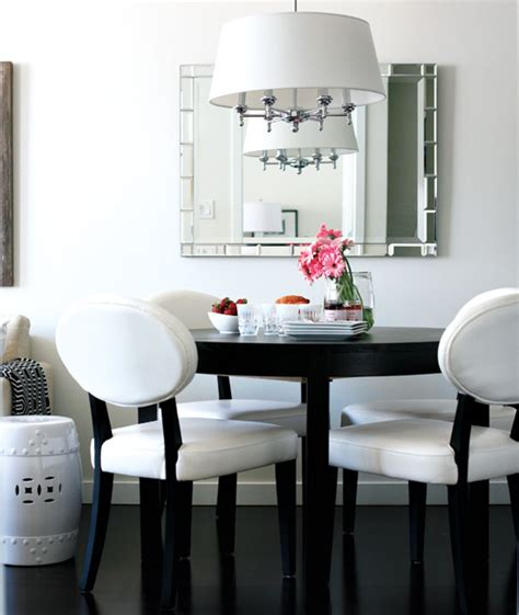 dining table for small condo small space interior chic condo style at home