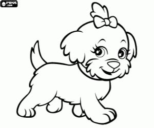 Polly Pocket Coloring Pages Printable Games Coloring Pages Puppy And Ribbon