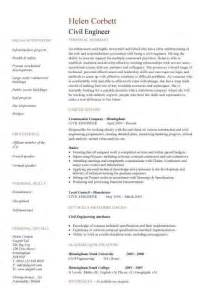 Civil Engineering CV template, structural engineer