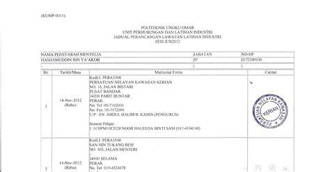 hashamy yaakob lawatan penyeliaan li kali kedua pada 12 11 2012