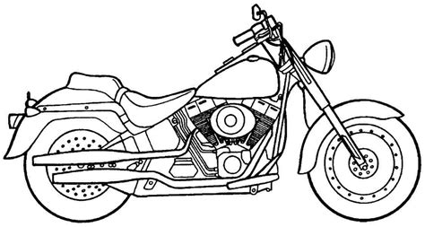 printable motorcycle coloring pages az coloring pages