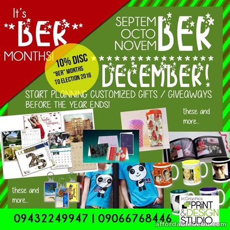 christmas and year end items customized gifts giveaways announcement cebu city - Customized Giveaways Cebu City Cebu