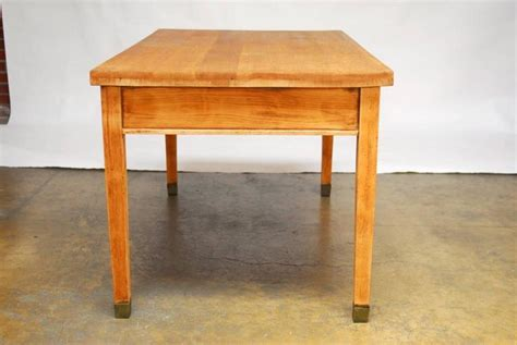Library Desk L by Quartersawn Oak Stickley Style Library Table Or Desk At