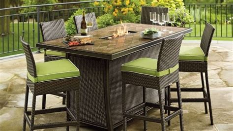 Firepit Table Set Patio Furniture Pit Table Set Pit Ideas