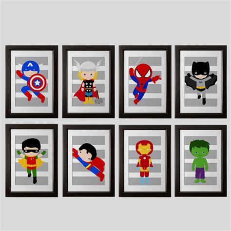 printable superhero poster free super hero wall art printables joy studio design