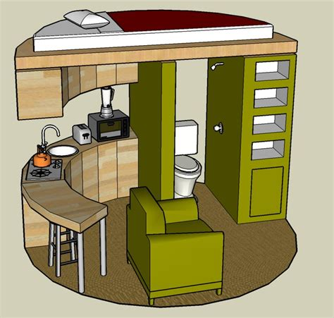 sketchup 3d tiny house designs