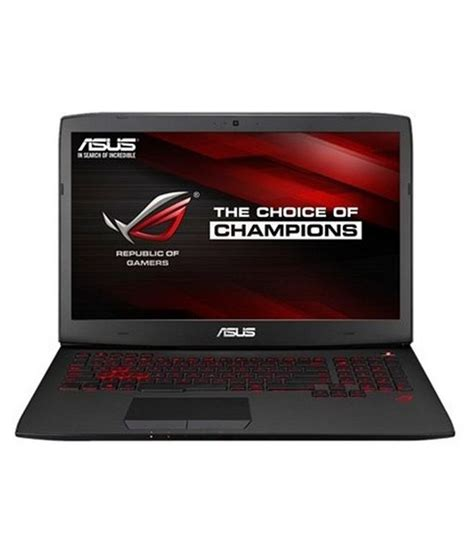 Asus Rog G751jm A 17 Inch Laptop asus rog g751jm notebook g751jm t7066p 4th intel i7 24gb ram 1tb hdd 17 3 inches