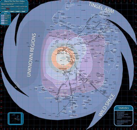 galaxy map map of the galaxy far far away